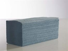 Interfold Blue Hand Towel